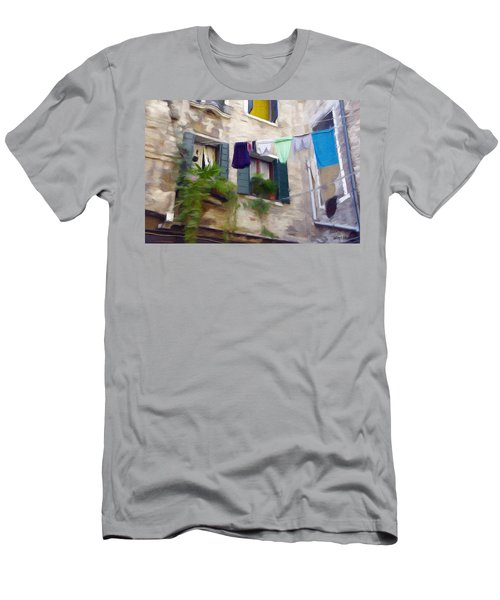 Windows Of Venice Men's T-Shirt (Slim Fit) by Jeff Kolker