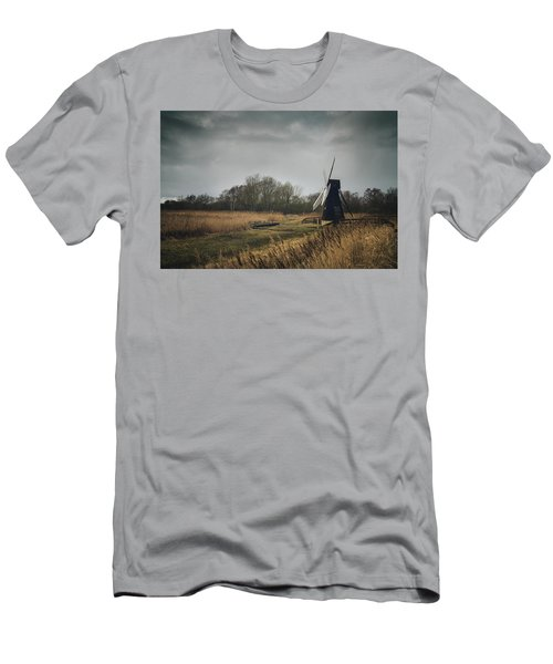 Men's T-Shirt (Athletic Fit) featuring the photograph Windpump by James Billings