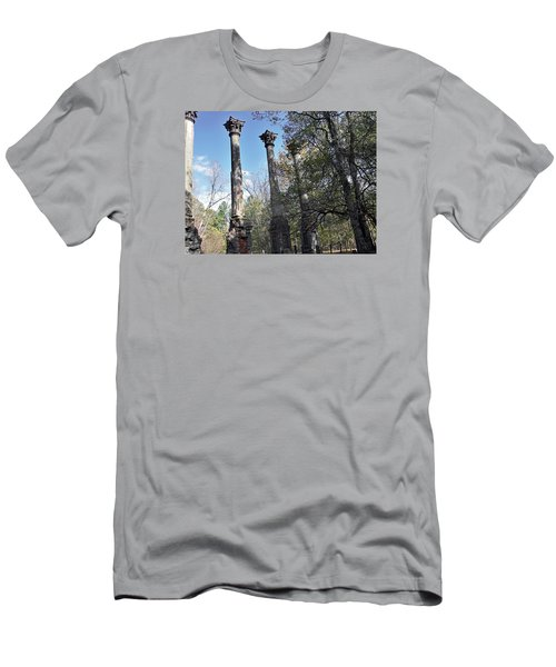 Windsor Ruins Men's T-Shirt (Slim Fit) by Helen Haw