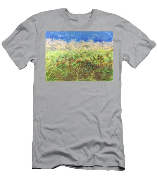 Windy Fields Men's T-Shirt (Athletic Fit)