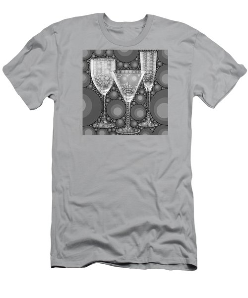 Wine Glass Art-2 Men's T-Shirt (Athletic Fit)