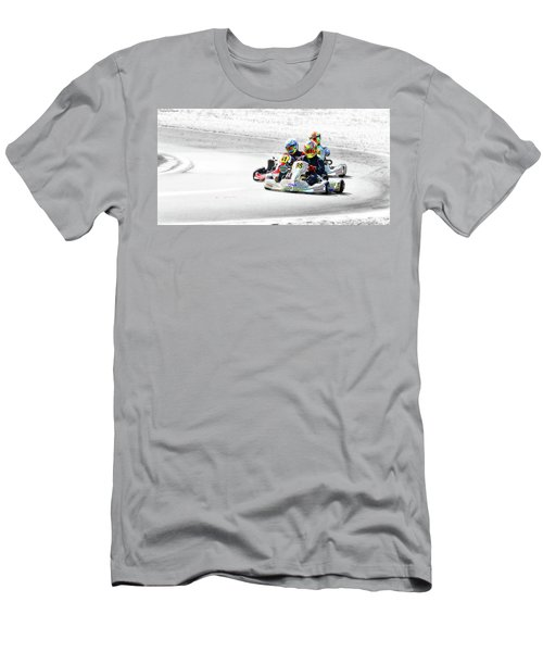 Wingham Go Karts 04 Men's T-Shirt (Slim Fit) by Kevin Chippindall