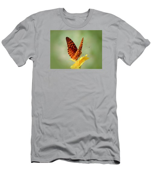 Wings Up - Butterfly Men's T-Shirt (Athletic Fit)
