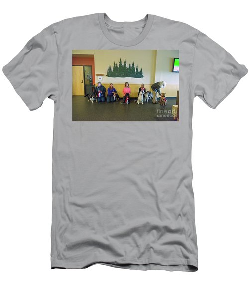 Men's T-Shirt (Athletic Fit) featuring the photograph Winners Circle by Fred Stearns