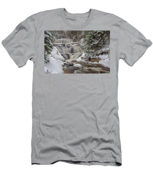 Winter At Sable Falls Men's T-Shirt (Athletic Fit)