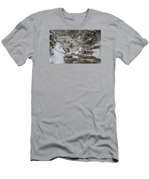 Winter At Sable Falls Men's T-Shirt (Athletic Fit)