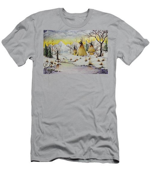 Winter Camp Men's T-Shirt (Athletic Fit)