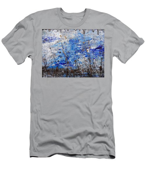 Men's T-Shirt (Slim Fit) featuring the painting Winter Crisp by Jacqueline Athmann