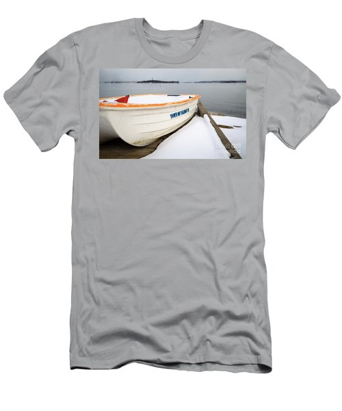 Winter, Falmouth, Maine  -18674 Men's T-Shirt (Athletic Fit)