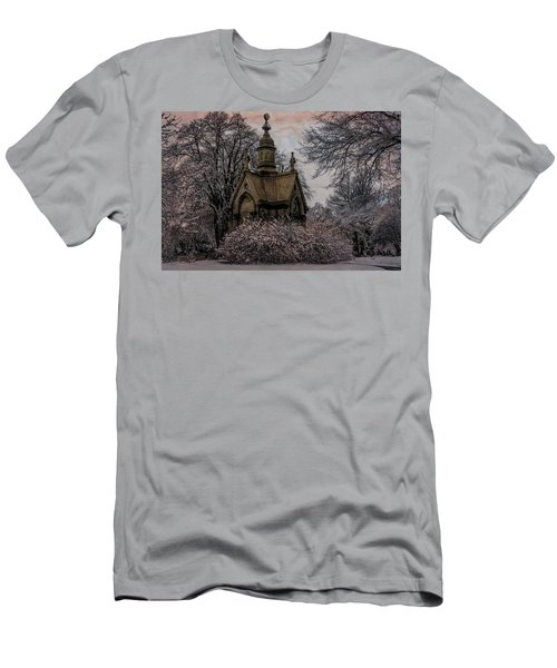 Men's T-Shirt (Slim Fit) featuring the digital art Winter Gothik by Chris Lord