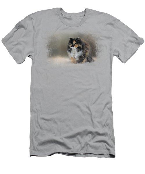 Winter Journey Men's T-Shirt (Slim Fit) by Jai Johnson