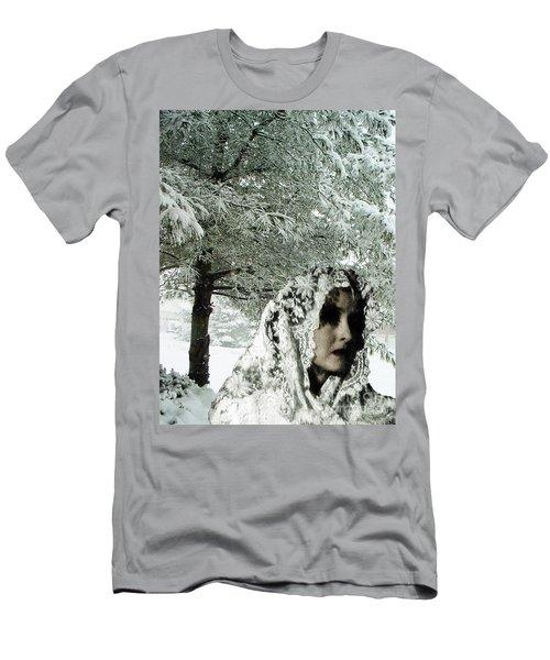 Winter Lace Men's T-Shirt (Slim Fit) by Lyric Lucas