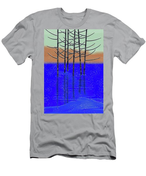 Winter Lake Men's T-Shirt (Athletic Fit)