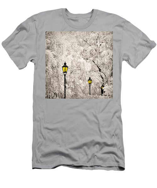 Winter Lanterns Men's T-Shirt (Athletic Fit)