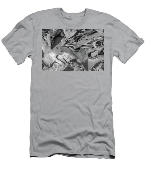 Winter Leaves Men's T-Shirt (Athletic Fit)