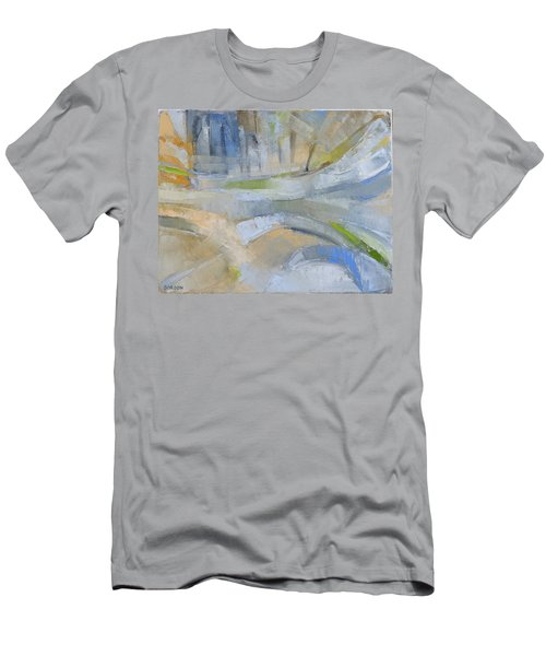 Winter Light 1 Men's T-Shirt (Athletic Fit)