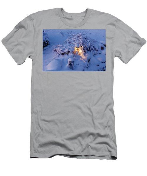 Winter Light Men's T-Shirt (Athletic Fit)