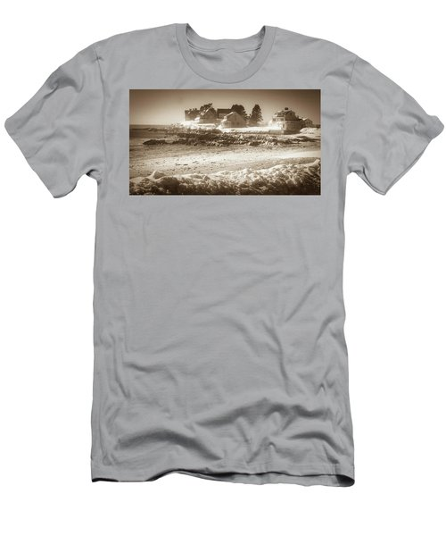 Winter - Lord's Point - Kennebunk Men's T-Shirt (Athletic Fit)