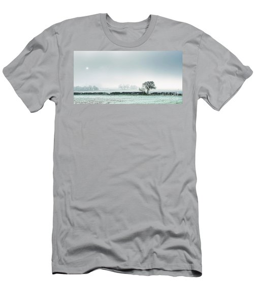 Winter On The Mendips Men's T-Shirt (Athletic Fit)