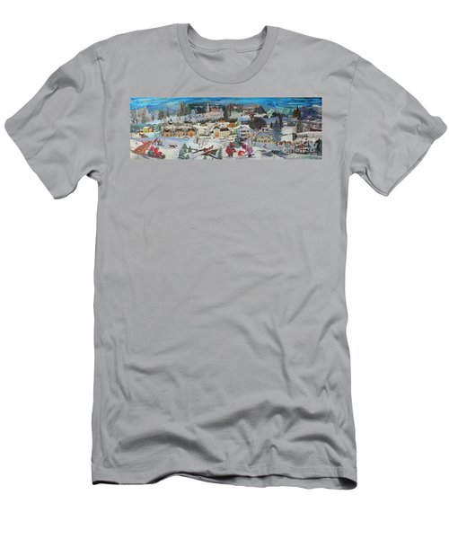 Winter Play Men's T-Shirt (Athletic Fit)