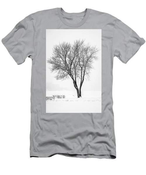 Winter Solitude Men's T-Shirt (Athletic Fit)