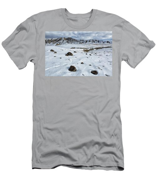 Winter Tracks Men's T-Shirt (Athletic Fit)