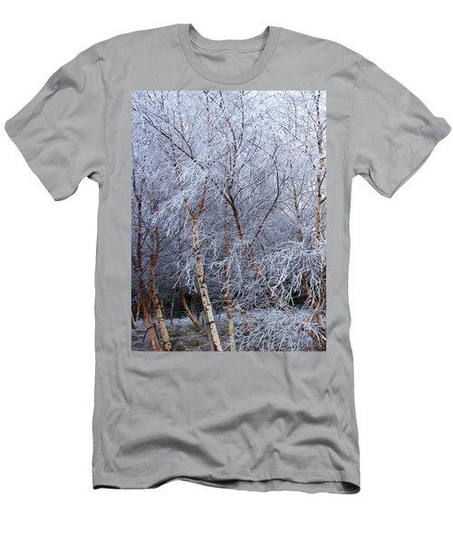 Winter Trees Men's T-Shirt (Slim Fit) by Jacqi Elmslie