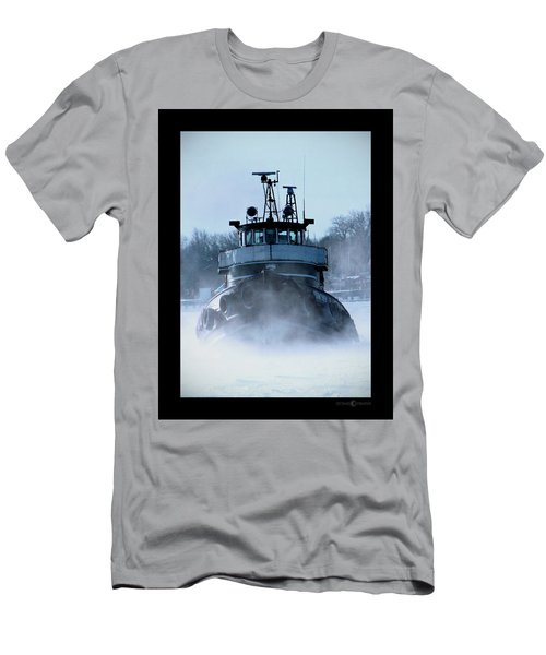 Winter Tug Men's T-Shirt (Athletic Fit)