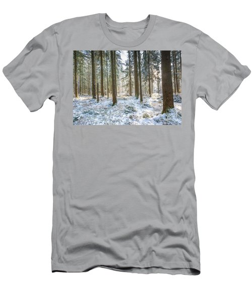 Men's T-Shirt (Slim Fit) featuring the photograph Winter Wonderland by Hannes Cmarits