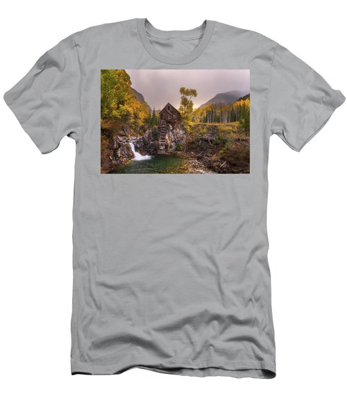 Men's T-Shirt (Athletic Fit) featuring the photograph Winter's Coming by Darren White