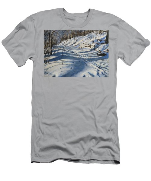 Winter's Shadows Men's T-Shirt (Athletic Fit)