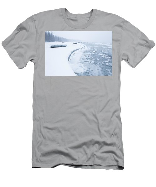 Wintry Coast Men's T-Shirt (Athletic Fit)