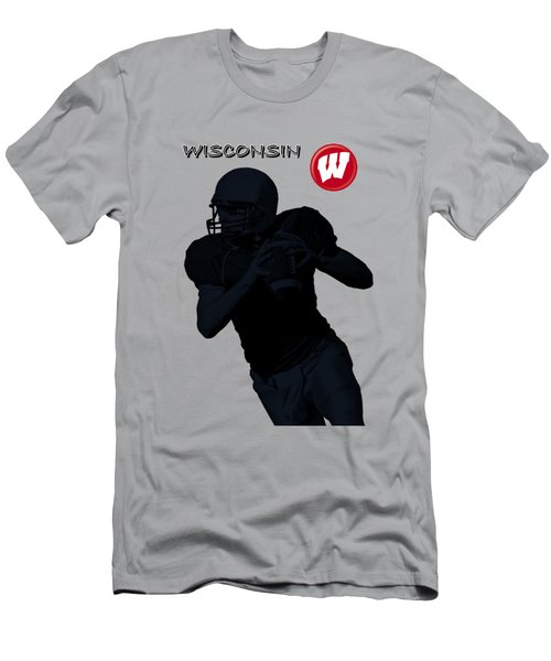 Wisconsin Football Men's T-Shirt (Athletic Fit)