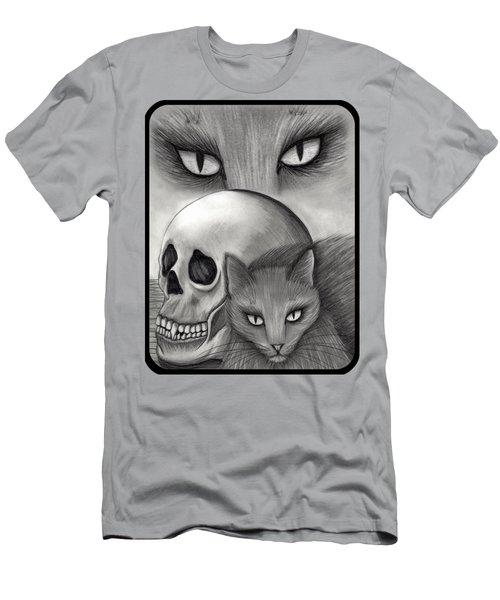 Witch's Cat Eyes Men's T-Shirt (Slim Fit) by Carrie Hawks