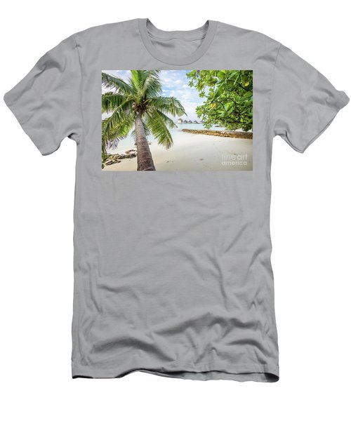 Men's T-Shirt (Slim Fit) featuring the photograph Wonderful View by Hannes Cmarits