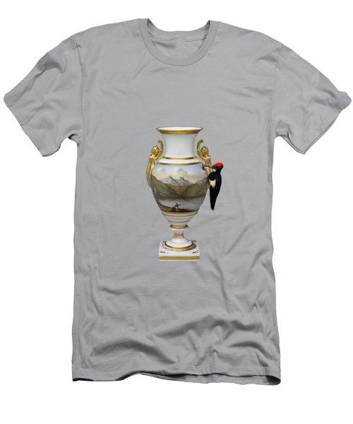 Wood Pecker's Dream Men's T-Shirt (Athletic Fit)