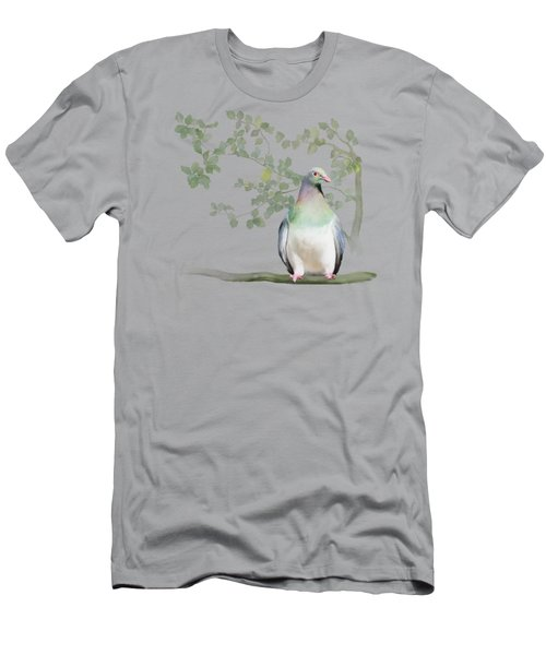 Wood Pigeon Men's T-Shirt (Slim Fit) by Ivana Westin