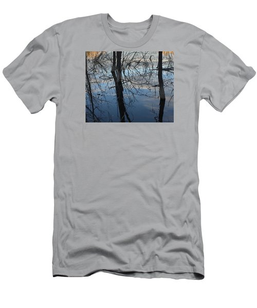 Woodland Pond Men's T-Shirt (Athletic Fit)