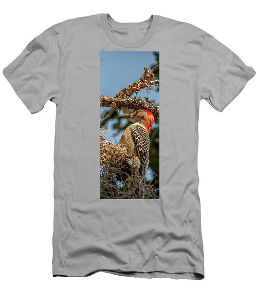 Woodpecker Closeup Men's T-Shirt (Athletic Fit)