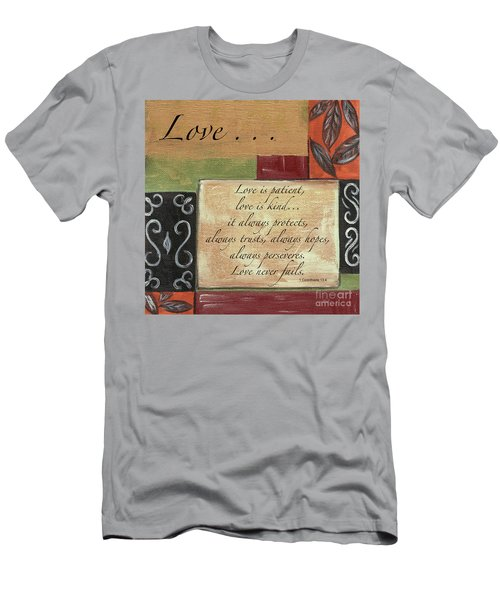Words To Live By Love Men's T-Shirt (Athletic Fit)