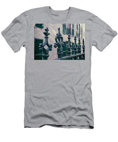 Wrought Iron Fence Men's T-Shirt (Athletic Fit)