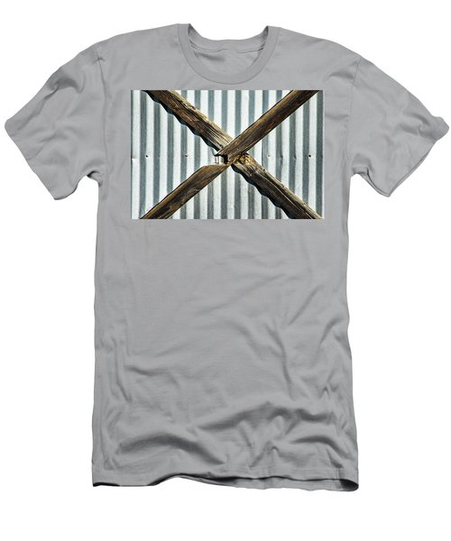 Men's T-Shirt (Slim Fit) featuring the photograph X Marks The Spot by Karol Livote