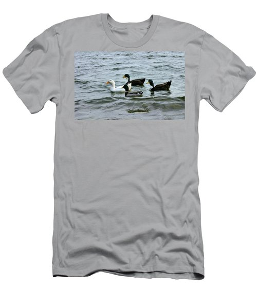 Yak Yak Yak One In Every Crowd Men's T-Shirt (Athletic Fit)