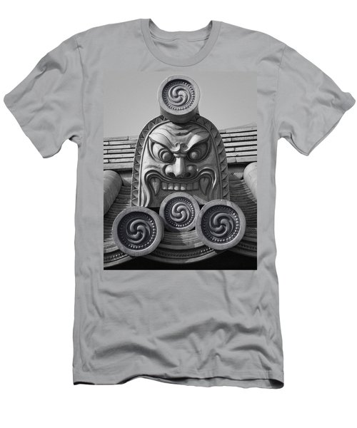 Yakushiji Temple Roof Tile Guardian - Nara Japan Men's T-Shirt (Athletic Fit)