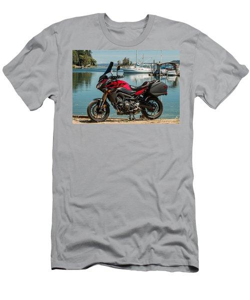 Yamaha Fj-09 .3 Men's T-Shirt (Slim Fit) by E Faithe Lester
