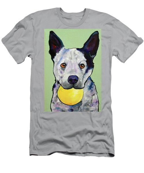 Yellow Ball Men's T-Shirt (Athletic Fit)