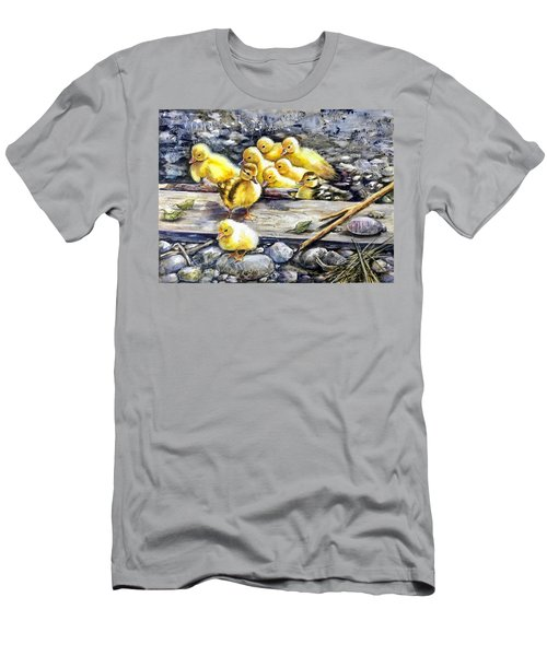 Yellow Happiness Men's T-Shirt (Athletic Fit)