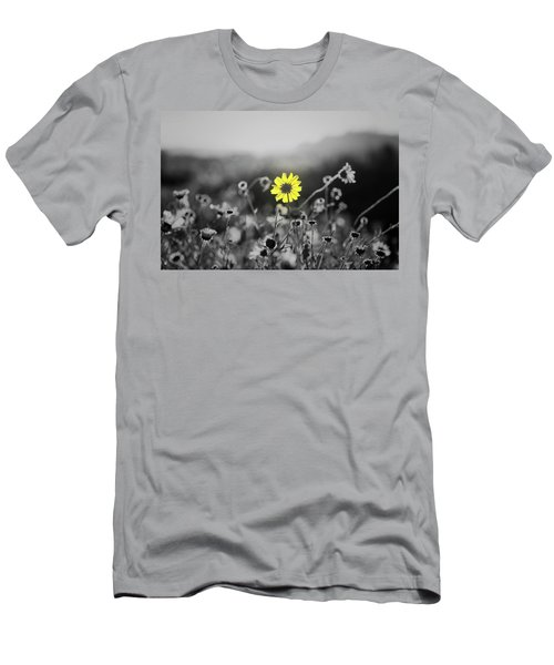 Yellow Is The Color Men's T-Shirt (Slim Fit)
