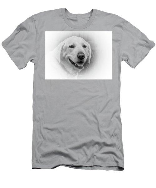 Yellow Labrador Men's T-Shirt (Athletic Fit)