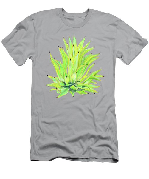 Yellow Octopus Agave Men's T-Shirt (Athletic Fit)